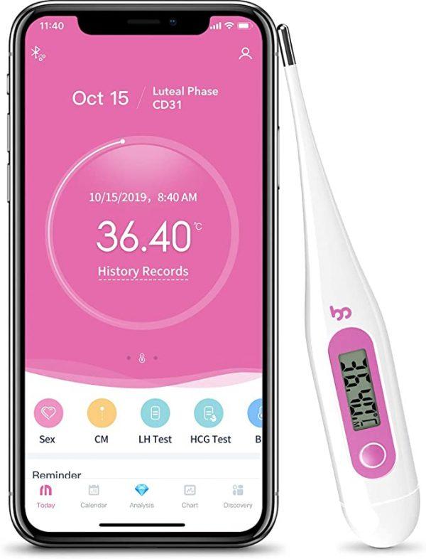 Femometer Digital Basal Body Thermometer