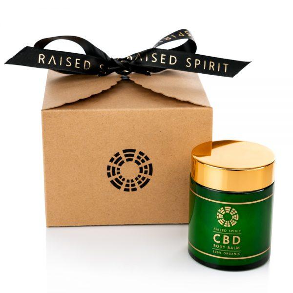 Organic CBD Body Balm with box