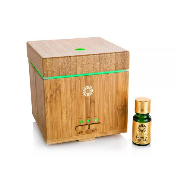 Aroma Diffuser & Organic CBD Diffuser Oil