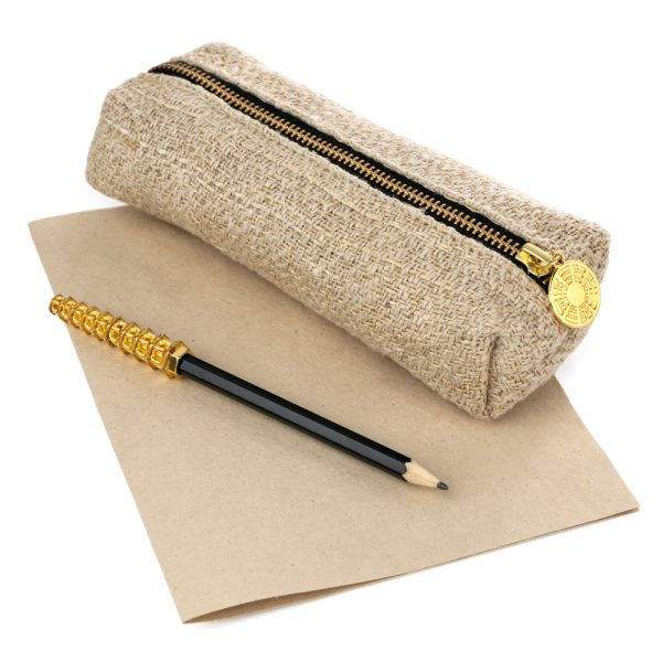 hemp stationary bag